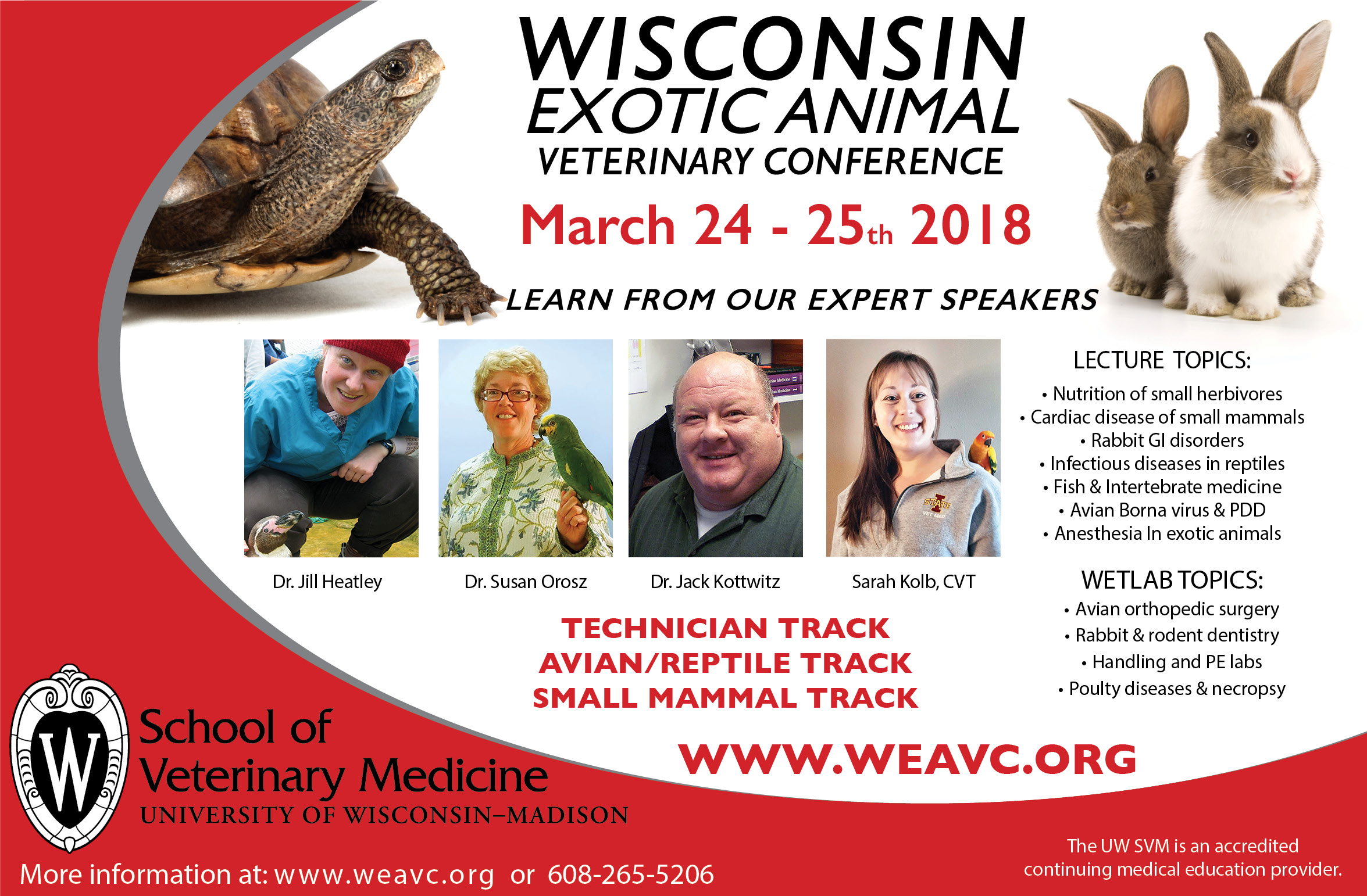 Wisconsin Exotic Animal Veterinary Conference